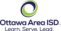 Ottawa Area ISD Logo: Learn. Serve. Lead.